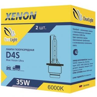 Лампа ксеноновая Clearlight D4S 6000K LCL D4S 160-0LL ClearLight-9066127