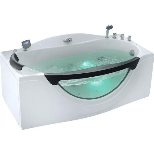 Акриловая ванна Gemy с гидромассажем (G9072 K) 6822365