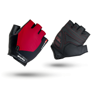 Велоперчатки короткие GripGrab ProGel, L, Red