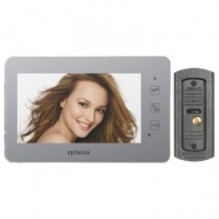 Комплект видеодомофона для квартиры, частного дома с вызывной панелью и записью на карту SD Eplutus EP-2232-5006151