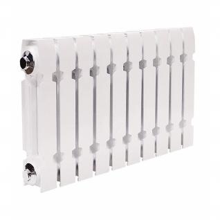 Чугунный секционный радиатор Konner Modern 500, 10 секций с монтажным комплектом-6761969