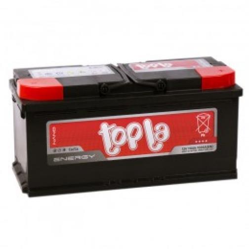 Автомобильный аккумулятор Topla Topla Energy 110R 1000А обратная полярность 110 А/ч (393x175x190)-6648963