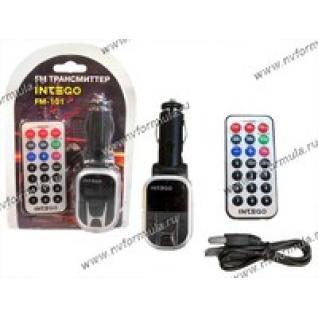 Трансмиттер FM Intego FM-101 USB/SD-9061112