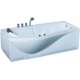 Акриловая ванна Gemy с гидромассажем (G9010 B)-6814465