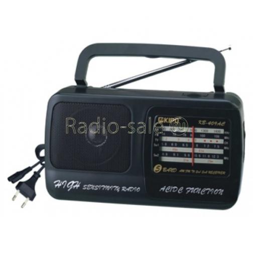 Радиоприемник KIPO KB-409AC (от сети, от батареек)-1312909