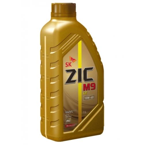 Моторное масло ZIC M9 4T 10W40 1л для 4-х тактных двигателей-5921464