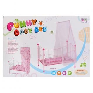 Мебель Для Кукол, Кровать Металл. С Балдахином Cs811b-37794075