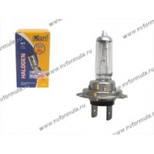 Лампа галоген 12V Н7 55W PX26d KRAFT +30% яркости 700081-415938