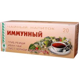 """Напиток чайный """"Иммунный"""", Компания АРГО НИИ ЛОП и НТ-6879506"""
