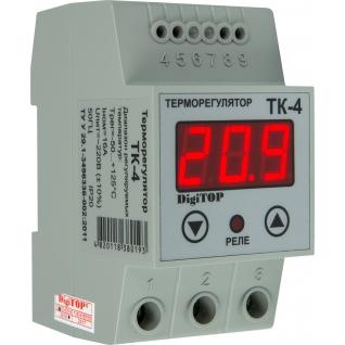 Терморегулятор DigiTOP ТК-4 (крепление на DIN-рейку)-6775757