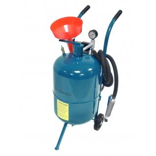 Передвижной пескоструйный аппарат напорного типа (бак 38л, 170-710л/мин, 4-8,5атм) пневмо. Forsage-6002682