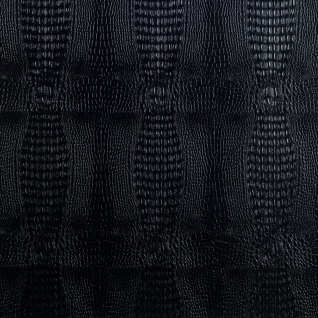 Кожаные панели 2D ЭЛЕГАНТ Crocodile (черный) основание ХДФ, 1200*1350 мм, на самоклейке-6768794