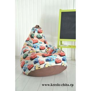 Кресло-мешок Маккуин, эксклюзивный принт-5675306