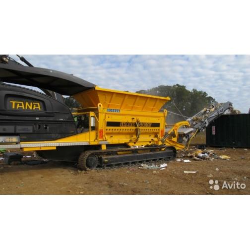 Мобильный шредер-измельчитель отходов Тана (tana)
