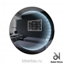 Зеркало тоннель с подсветкой WENECJA KOLO 61*61