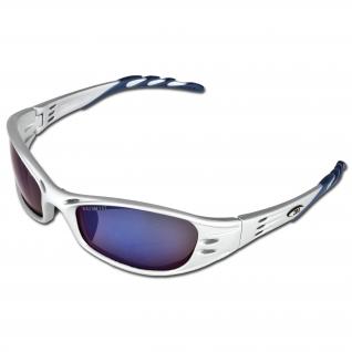 3M Очки защитные 3M Fuel с зеркальным покрытием синего цвета