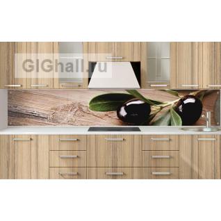 Стеклянный фартук для кухни ОЛИВКИ-5901397