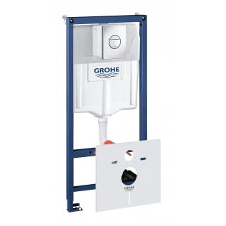 Система инсталляции для унитаза Grohe Rapid SL с панелью смыва Nova Cosmopolitan 3 режима 113 м 38813001-6757929