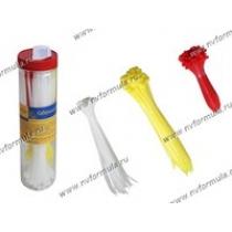 Хомут пластмассовый 2,5х100, 2,5х150, 3,6х200 ленточный 250шт в тубе