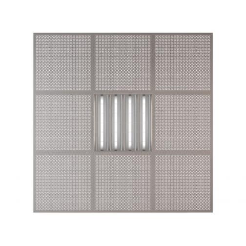 Потолочная плита Presko Эфес 59.5х59.5 металлик-6768519