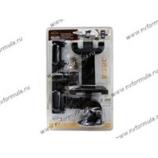 Держатель для планшетов на подголовник и стекло зажимы 150-250мм S2206W-AC-F-430860