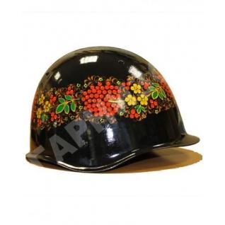 Каска армейская стальная (хохлома-Стандарт)-8170882