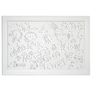 Декоративный экран Квартэк KIDS 600*900 мм (пепел, белый, клен, дуб, бук, вишня, орех, венге)-6769295