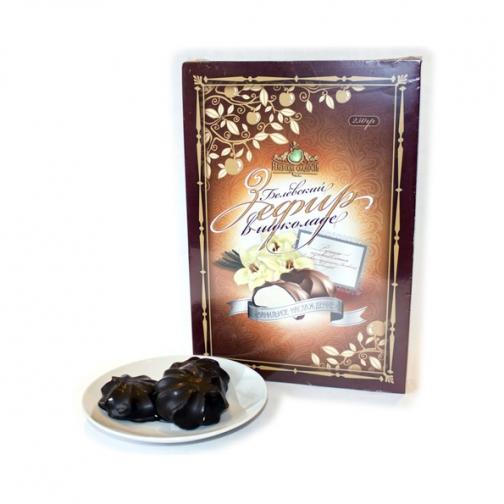 Белёвский Зефир в шоколаде Ванильное наслаждение, 250 г, коробка-822522