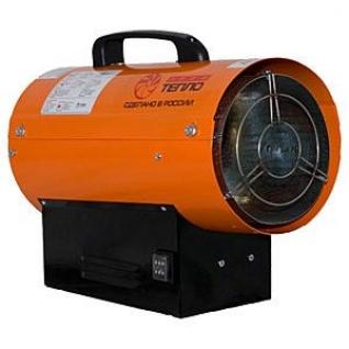 Газовая тепловая пушка КГ на сжиженном газе 10, апельсин-2062524