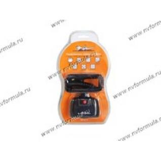Прикуриватель на 2 гнезда AIRLINE ASP-2U-11 с 2 USB витой шнур-431312