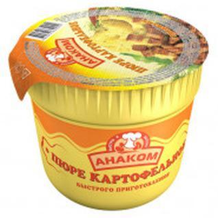 Картофельное пюре Анаком с гренками, 40гх24шт