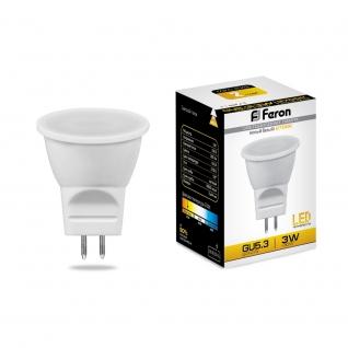 Светодиодная лампа Feron LB-271 (3W) 230V G5.3 2700K MR11-8164319