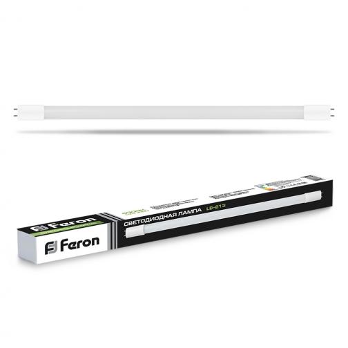 Светодиодная лампа Feron LB-213 (10W) 230V G13 4000K-8164536