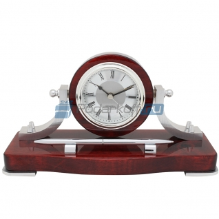 """Прибор настольный """"Сверх задачи"""" (часы, ручка)-5865105"""