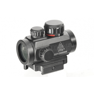 "Прицел Leapers UTG 2.6"" ITA Red/Green CQB Micro Dot (SCP-DS3026W)-28912242"