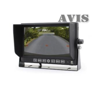 """Парковочный монитор 7"""" на приборную панель AVIS AVS4714BM Avis-833253"""