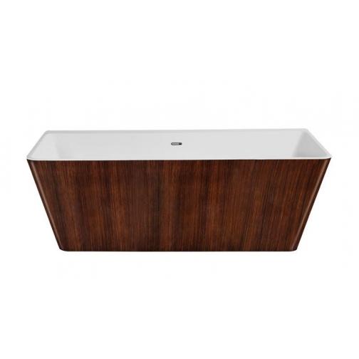 Отдельно стоящая ванна LAGARD Vela Brown wood 6944879