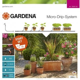 Комплект Gardena микрокапельного полива базовый