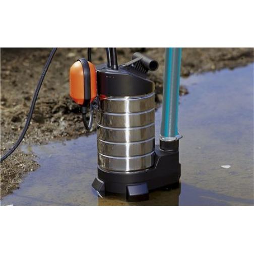 Насос дренажный для грязной воды Gardena 20000 inox Premium 6770546 1