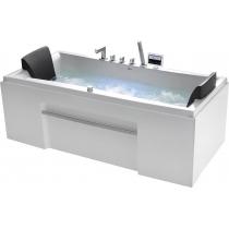 Акриловая ванна Gemy с гидромассажем (G9076 K)