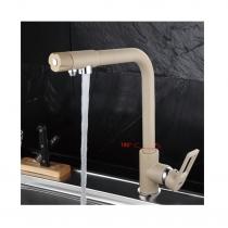 FRAP F4372-8 белый Смеситель кухня с подключением фильтра для воды