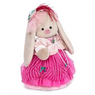 Зайка Ми барышня в карамельно-розовом (большой) StM-275-37886417