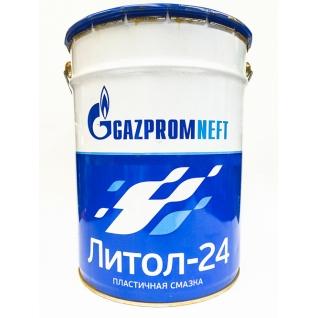 Смазка Газпромнефть Литол-24, 20л/18кг