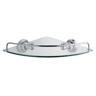 Полка стеклянная угловая Fixsen FX-78503A Bogema