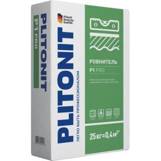 ПЛИТОНИТ Р1 ПРО стяжка пола (25кг) / PLITONIT R1 PRO ровнитель для грубого выравнивания полов (25кг) Плитонит-36984056