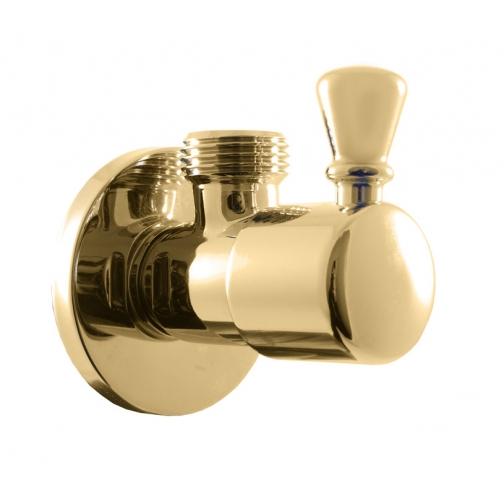 Вентиль с керамической головкой Rav Slezak ROH001Z (золото) 6760384 1