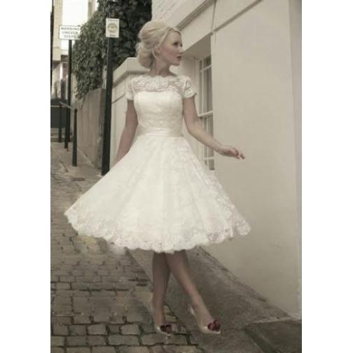 Платье свадебное Короткие свадебные платья⇨Паула К-661955