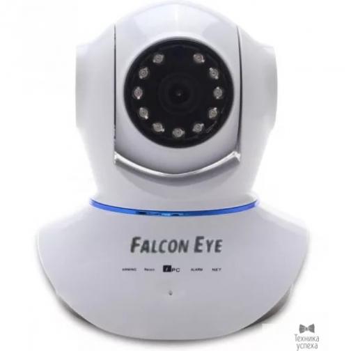 Falcon Eye Falcon Eye FE-MTR1000 Поворотная Wi-Fi IP видеокамера;Объектив 3,6мм;Матрица 1/4 CMOS; Разрешение 1280*720 пикс.; Чувствительность 0,1 Люкс; ИК-подсветка до 10 м.Двухстороняя аудиосвязь-6875425