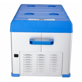 Kомпрессорный автохолодильник ALPICOOL A30 синий (30л, 12/24/220В)-36995010