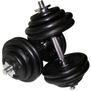Alex Гантель разборная черная DB101-16T (10,5 кг) 10012278-5754624